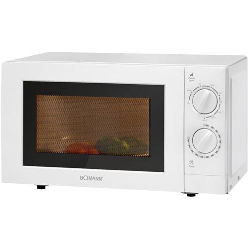 BOMANN Φούρνος μικροκυμάτων με λειτουργία grill 20L, 700-900W, MWG 2289 CB WHITE