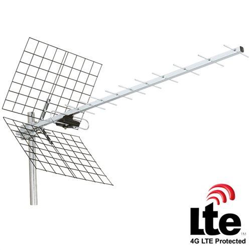 KONIG Εξωτερική κεραία για λήψη καναλιών DVB-T και UHF ANT-UHF41L-KN