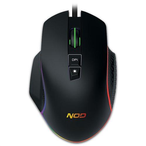 NOD Ενσύρματο RGB gaming mouse, με ανάλυση έως και 6400 DPI.  NOD RUN AMOK