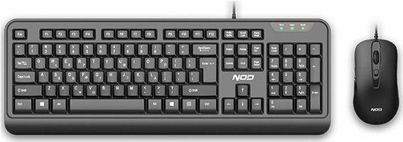 NOD Σετ ενσύρματο πληκτρολόγιο και ποντίκι, NOD BUSINESSPRO