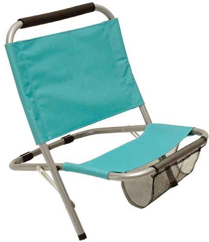 Campus Καρέκλα Παραλίας Μεταλλική, Polyester, Μπλε