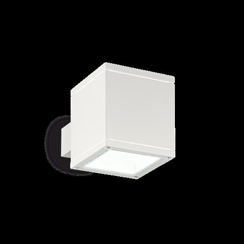Ideal Lux Φωτιστικό Τοίχου - Απλίκα Μονόφωτο SNIF SQUARE AP1 BIANCO 144276