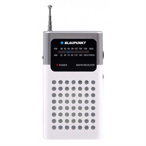 Blaupunkt Αναλογικό Ραδιόφωνο Τσέπης AM/FM Λευκό
