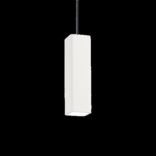 Ideal Lux Κρεμαστό Φωτιστικό Οροφής Μονόφωτο OAK SP1 SQUARE BIANCO 150666