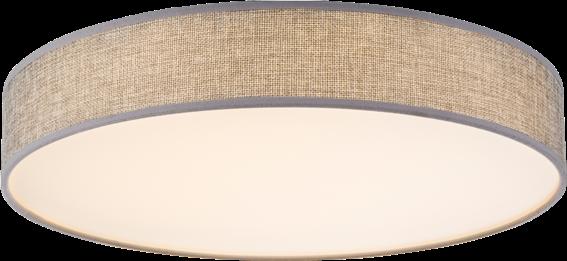 Globo Lighting Πλαφονιέρες PACO μονόφωτο λευκό  1xLED