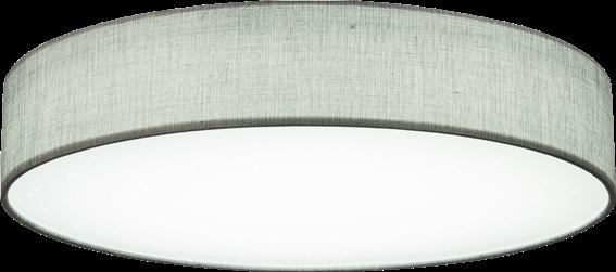 Globo Lighting Πλαφονιέρες PACO μονόφωτο νίκελ ματ  1xLED