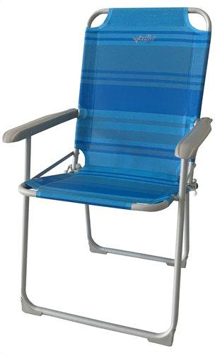 myResort Καρέκλα Βεράντας- Κήπου Μεταλλική, Text, Μπλε