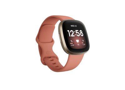 Fitbit Smartwatch Versa 3 Pink Clay/Gold