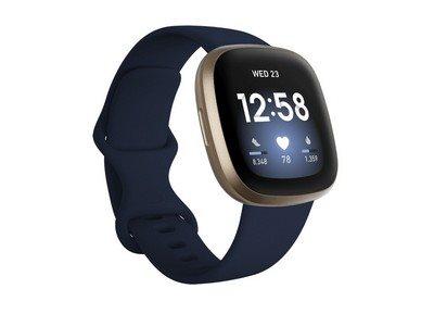 Fitbit Smartwatch Versa 3 Blue/Gold