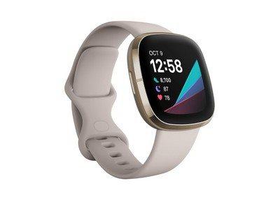 Fitbit Smartwatch Sense White/Gold