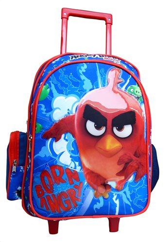 "Angry Birds Τρόλεϋ Σακίδιο για αγόρια 17"" Paxos 163610"
