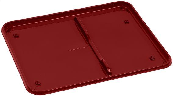 Wham Δίσκος για Πιατοθήκη Κόκκινος 44,5x36,5x2cm.