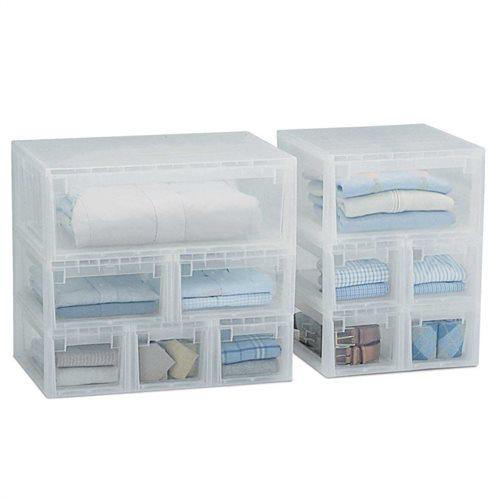 Κουτί/συρτάρι αποθήκευσης πλαστικό LightDrawerS 19,6 x 39 x H16 cm