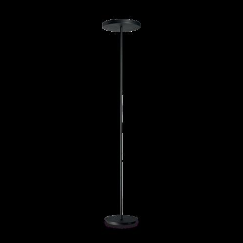 Ideal Lux Φωτιστικό Δαπέδου - Ορθοστάτης Πολύφωτο COLONNA PT4 NERO 177205