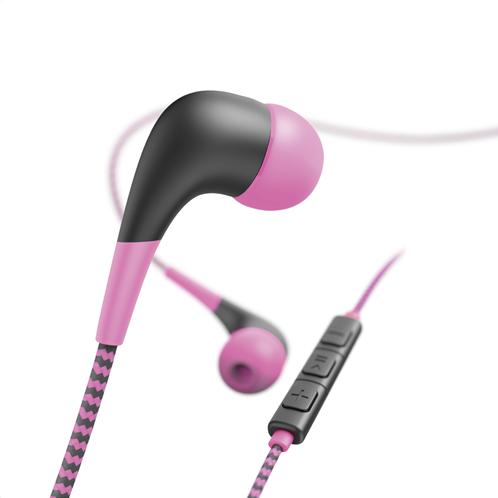"Hama ""Neon"" In-Ear Ακουστικά,Ρόζ"
