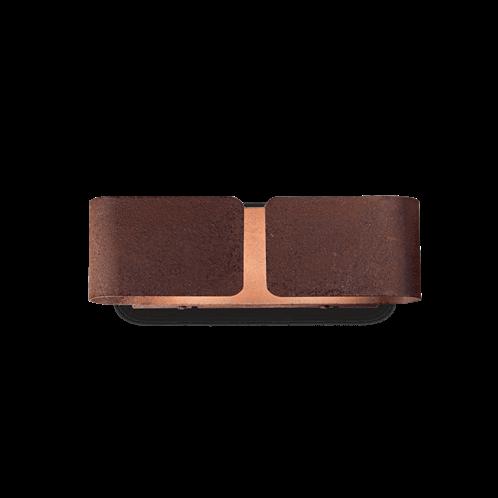 Ideal Lux Φωτιστικό Τοίχου - Απλίκα Πολύφωτο CLIP AP2 SMALL CORTEN 187365
