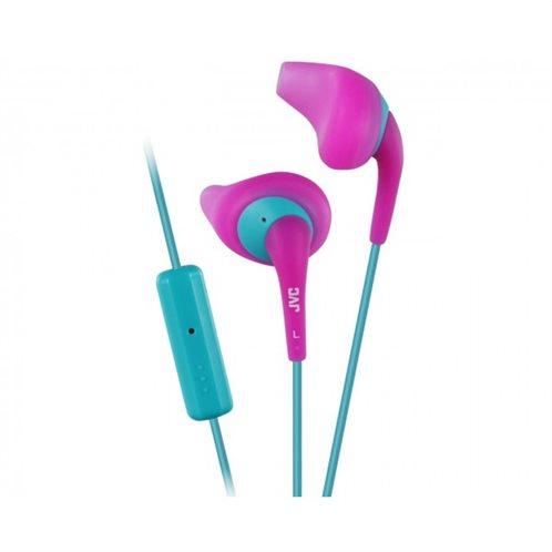 "JVC ""Gumy sport"" in-ear Ακουστικά Handsfree ΗΑ-ΕΝR15 Ροζ"
