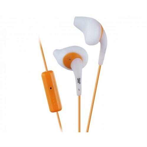 "JVC ""Gumy sport"" in-ear Ακουστικά Handsfree ΗΑ-ΕΝR15 Λευκό"