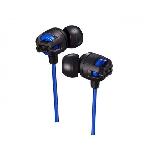 JVC IN-EAR ακουστικά με Exterme Deep Bass με κουμπί & μικρόφωνο  HAFX103MAE
