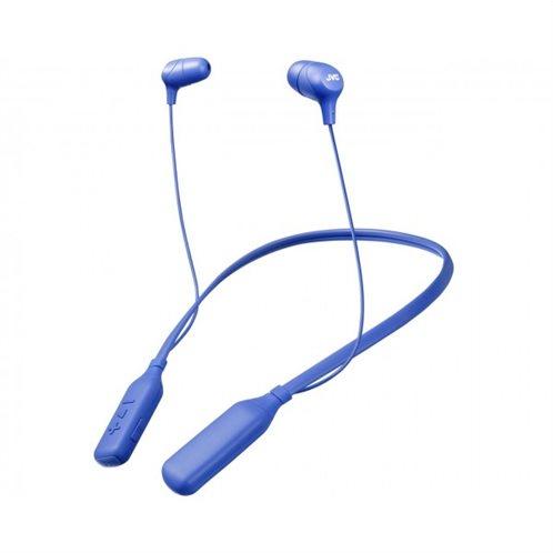 """JVC """"Marshmallow"""" Ακουστικά Λαιμού με Bluetooth HA-FX39BT-A-E Μπλε"""