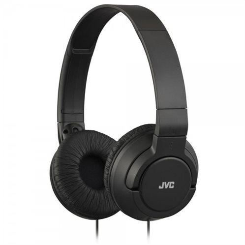 JVC On Ear Ακουστικά Κεφαλής HA-S180B μαύρο
