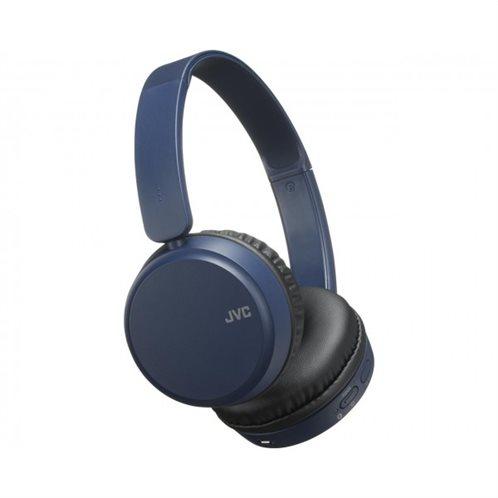 JVC Ακουστικά Bluetooth HAS35BN με λειτουργία αύξησης μπάσων Blue