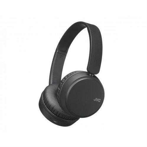 JVC Ακουστικά Bluetooth HAS35BN με λειτουργία αύξησης μπάσων Black