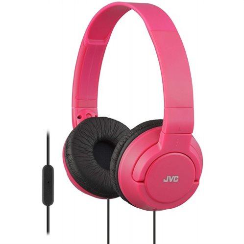 JVC on-ear Ακουστικά Κεφαλής με μικρόφωνο HASR185R Foux
