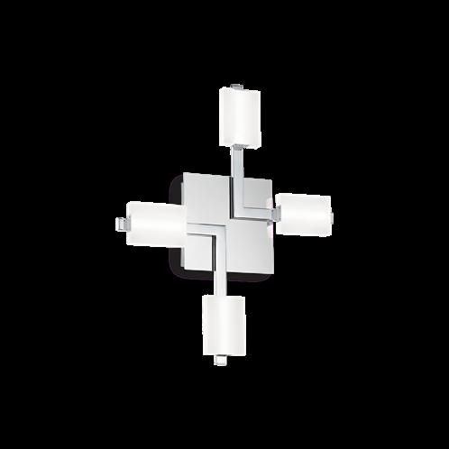 Ideal Lux Φωτιστικό οροφής - Πλαφονιέρα - Σποτ Πολύφωτο MIKADO PL4 196640
