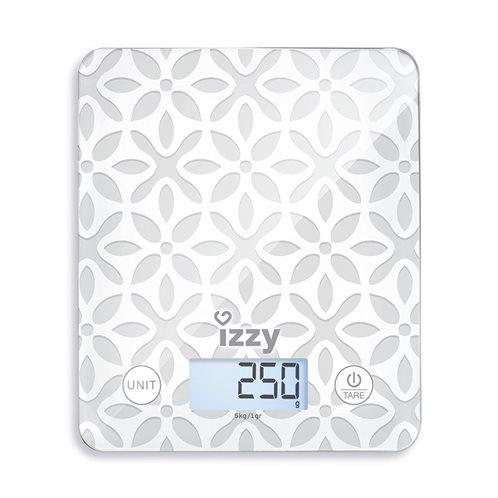 Izzy Ζυγαριά Κουζίνας Ψηφιακή KG652 Design