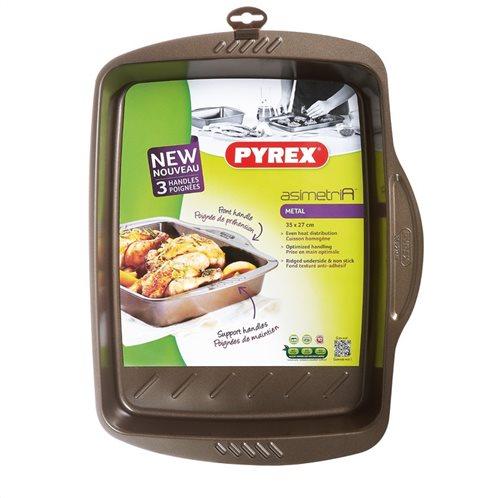 Pyrex Ταψί Φούρνου Αντικολλητικό Ορθογώνιο Asimetria 35x27cm 322002