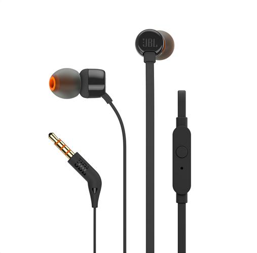 JBL In-Ear Ακουστικά T110 (Black)