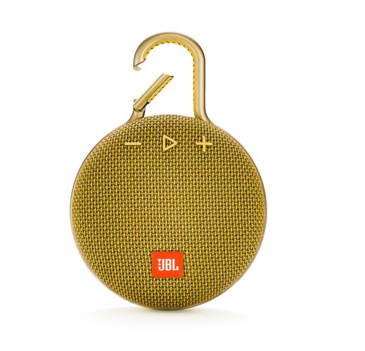JBL Clip 3 φορητό Bluetooth ηχείο Αδιάβροχο IPX7 (Yellow)