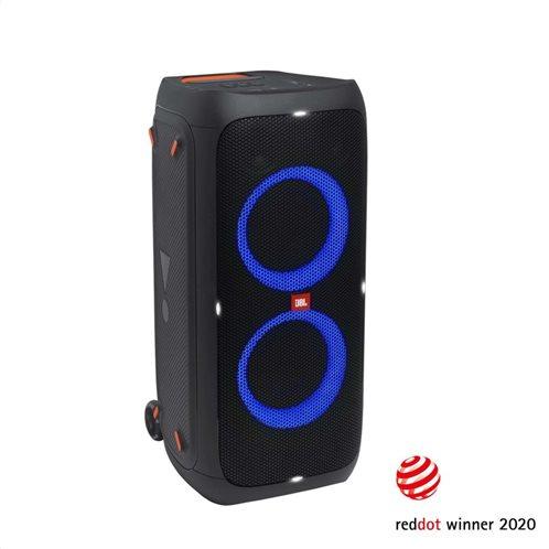 JBL Partybox 310, Portable Blt Party Speaker, Light Effect, Wheels (Black)
