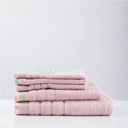 White Fabric Πετσέτα kitty Dusty Pink Χειρός