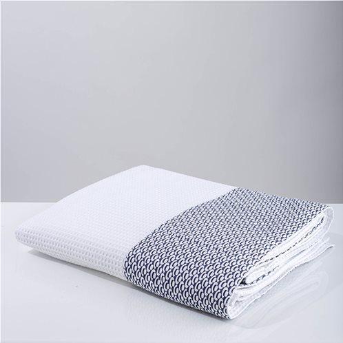 White Fabric Κουβέρτα Telendo