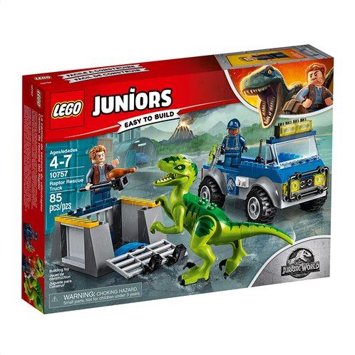 LEGO Juniors Raptor Rescue Truck 10757 Φορτηγό Διάσωσης Βελοσιράπτορα