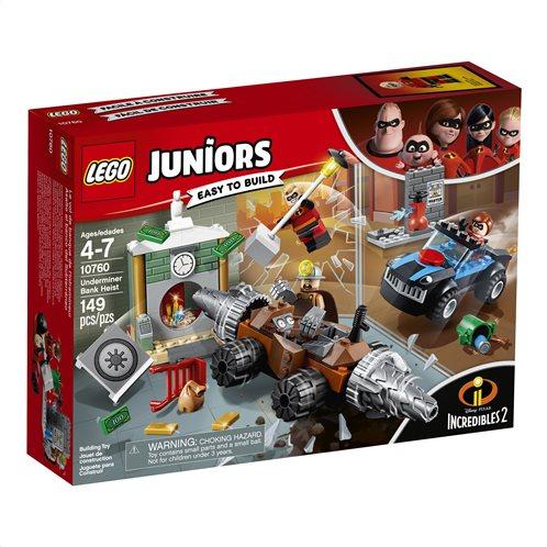 LEGO Juniors Underminer Bank Heist 10760 Ληστεία Τράπεζας του Υπονομευτή