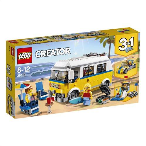 LEGO Creator Sunshine Surfer Van 31079 Βανάκι του Σέρφερ της Λιακάδας