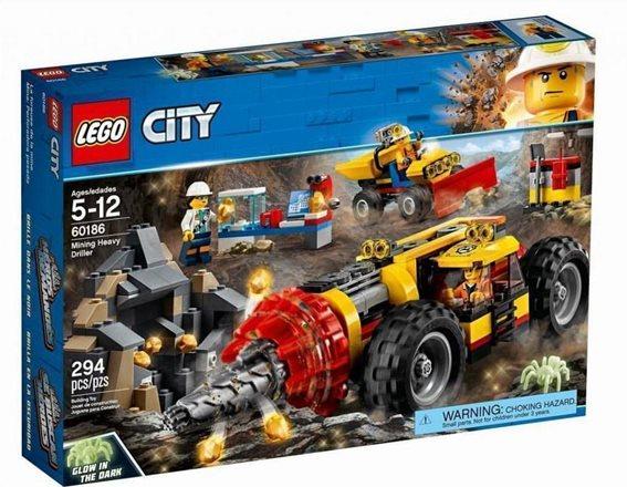 LEGO City Mining Heavy Driller 60186 Γεωτρύπανο Εξόρυξης Χρυσού