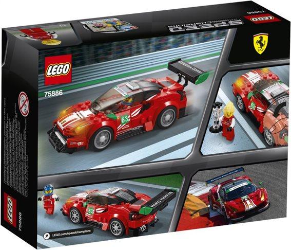 LEGO Speed Champions Ferrari 488 GT3 ''Scuderia Corsa'' 75886