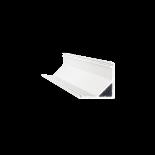 Ideal Lux Αξεσουάρ Φωτιστικού SLOT SURFACE ANGOLO 3000 mm ALUMINUM 204628