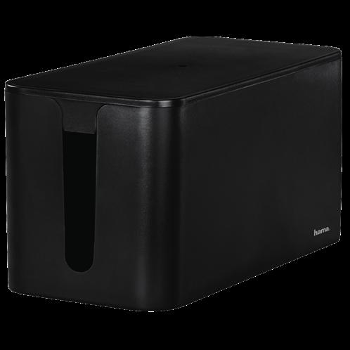 "Hama ""Mini"" Cable Box, 23.5 x 11.5 x 12 cm, black"