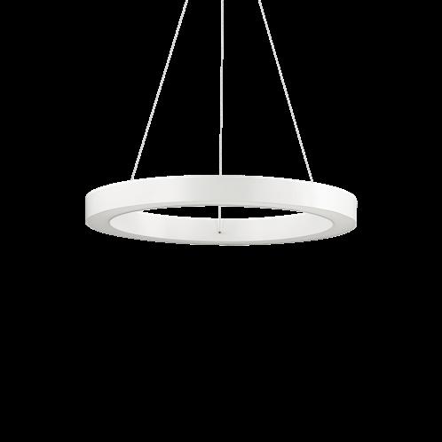 Ideal Lux Κρεμαστό Φωτιστικό Οροφής Μονόφωτο ORACLE SP1 D50 BIANCO 211404