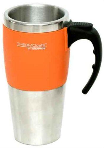 Thermos Κούπα-Θερμός Ανοξείδωτο  0,42lt Πορτοκαλί