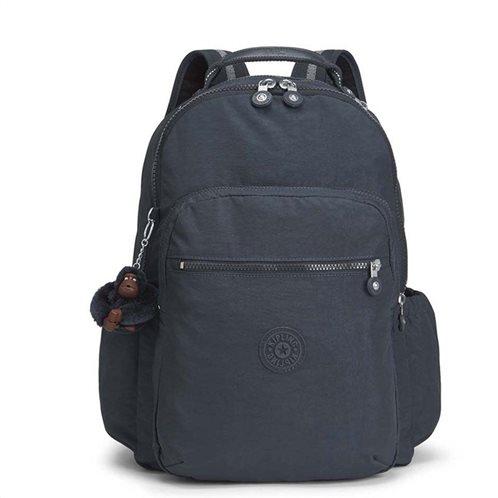Kipling σακίδιο πλάτης με θήκη για laptop 44x35x22cm σειρά Seoul GO NAVY