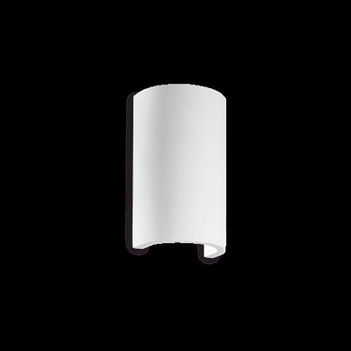 Ideal Lux Φωτιστικό Τοίχου - Απλίκα Μονόφωτο FLASH GESSO AP1 ROUND 214696