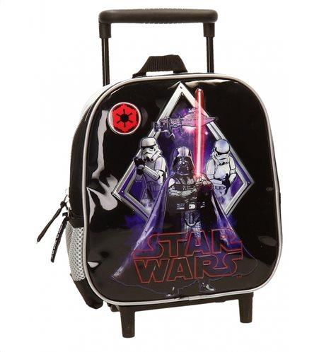 Disney σακίδιο πλάτης τροχήλατο 23x25x10cm σειρά Star Wars