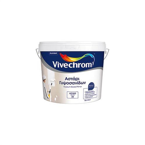 Vivechrom Αστάρι Γυψοσανίδων Eco 1lt Λευκό