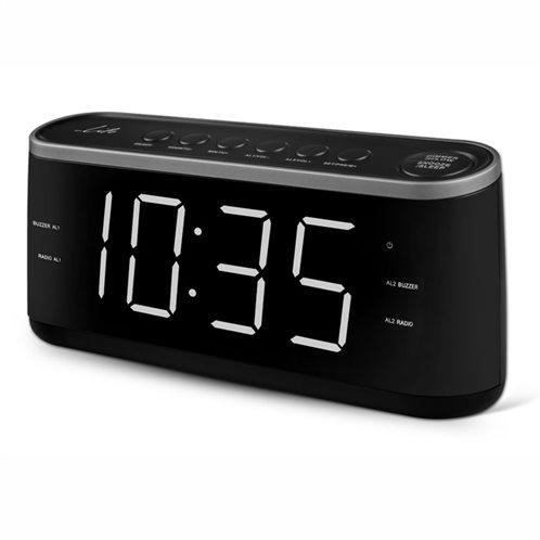 "Life Ραδιόφωνο / Ρολόι / Ξυπνητήρι με οθόνη LED και ψηφία 1.8"" RAC-003"